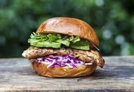 Avocado Chicken Burger