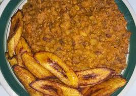 Beans Porridge with Plantain