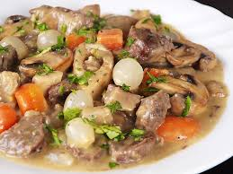 Beef Blanquette