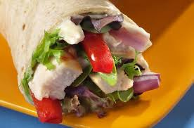 Chicken Veggie Wrap