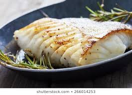 Grilled Cabillaud (cod)