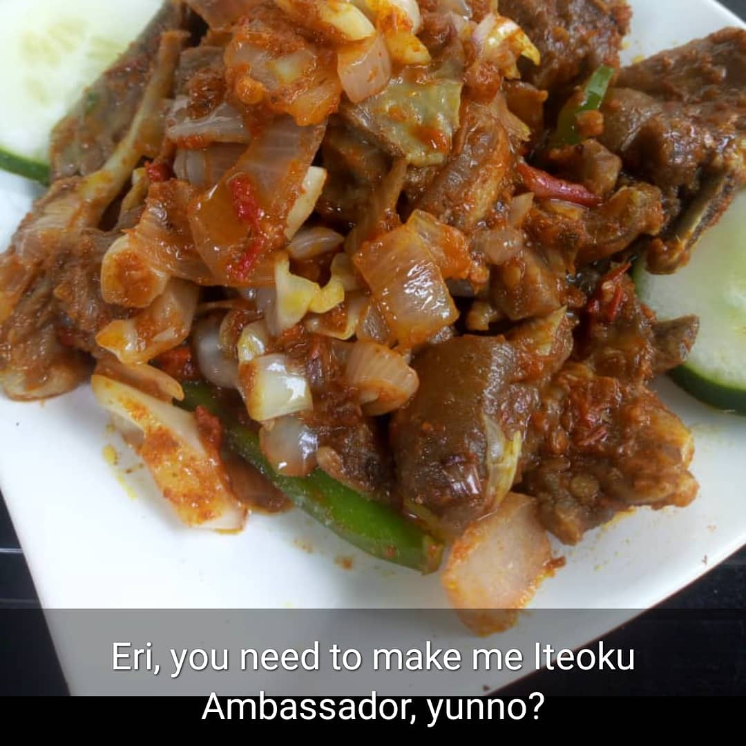 Peppered Goatmeat