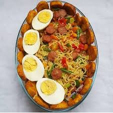 Noodles Plantain & Egg