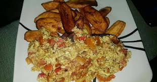 Plantain and Egg Sauce