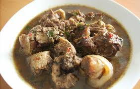 White Soup With assorted Meat and swallow